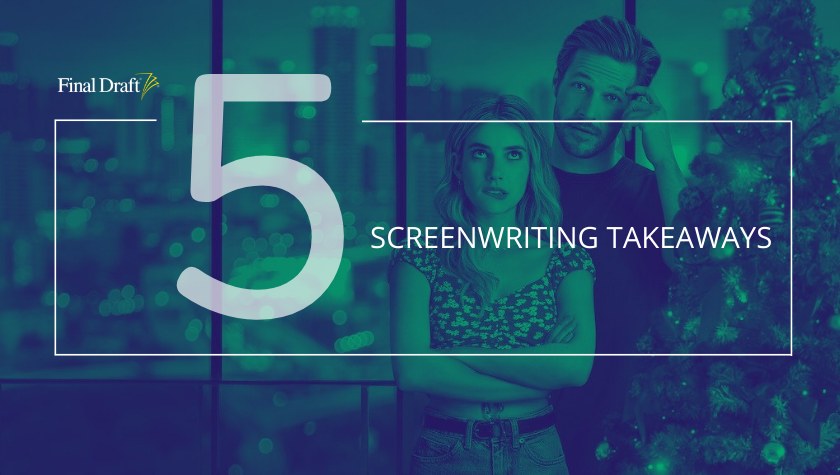 5 Screenwriting Takeaways: 'Holidate' and Formulas for Love on Screen