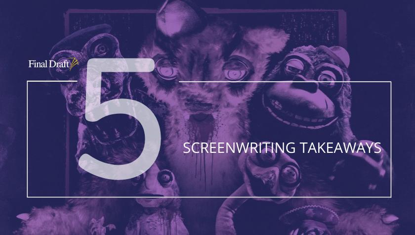 5 Screenwriting Takeaways from Nicolas Cage vs. animatronics horror film: 'Willy's Wonderland'
