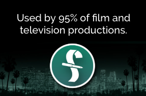 Used by 95% of film and television productions
