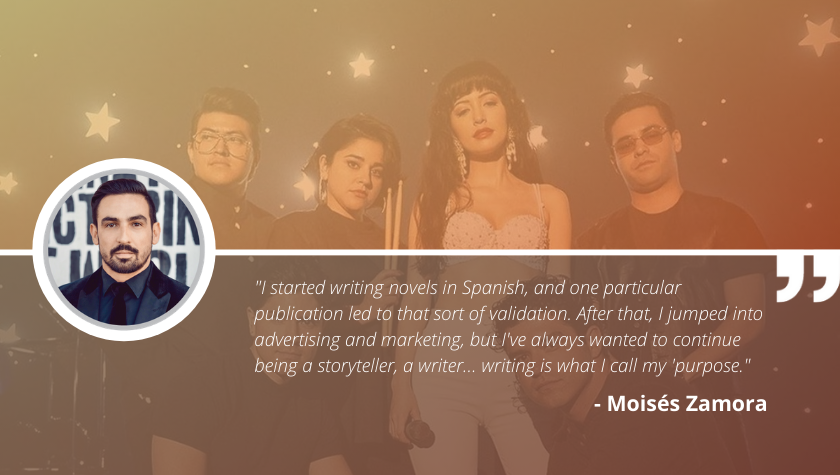 Write On with 'Selena' Creator Moisés Zamora