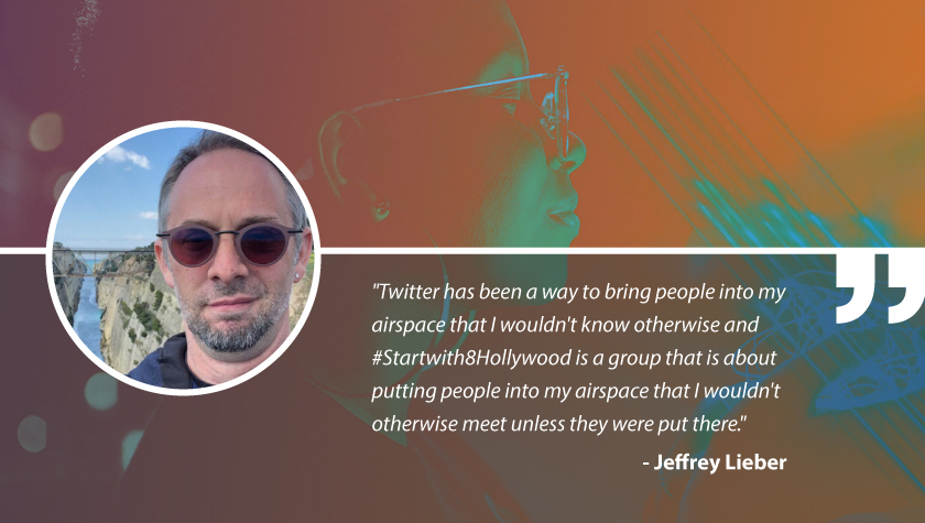 Write On with Showrunner and #StartWith8Hollywood Mentor Jeffrey Lieber