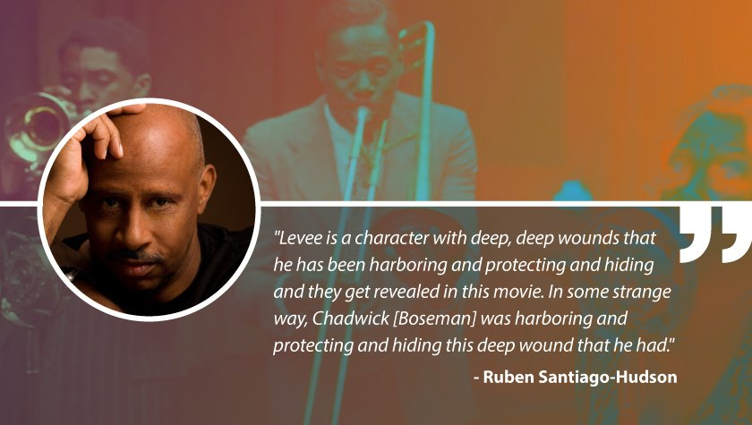 Write On with 'Ma Rainey's Black Bottom' Writer Ruben Santiago-Hudson